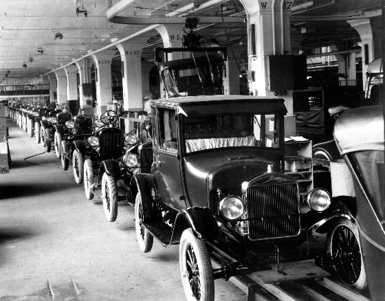 model-t-production-line