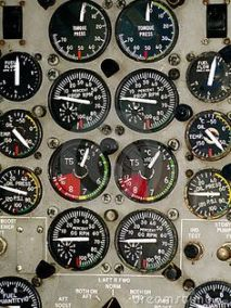 aeroplane dashboard