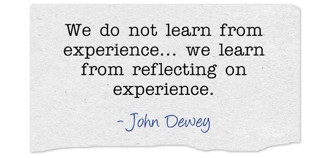 John Dewey quote on learning