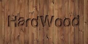 hard wood