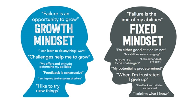 fixed vs growth mindsets1